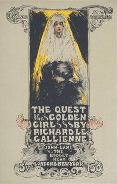 The Quest of the Golden Girl - Lithograph (Les Maîtres de l'Affiche), 1897