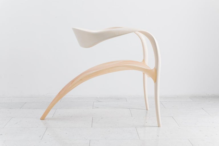 Contemporary Ethereal Series Lounge Chair, UK For Sale