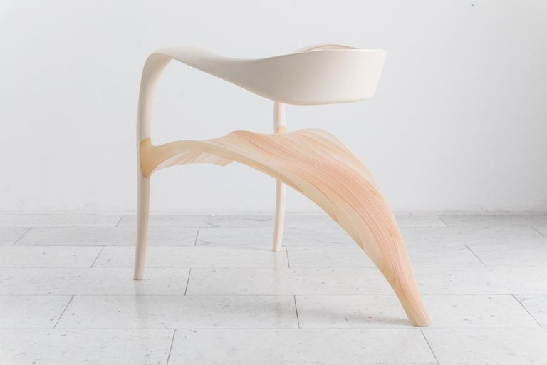 Sycamore Ethereal Series Lounge Chair, UK For Sale