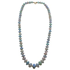 Ethiopian Opal Bead Necklace