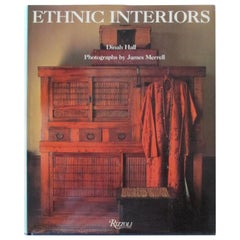 Ethnic Interiors Hardcover Book by Dina Hall