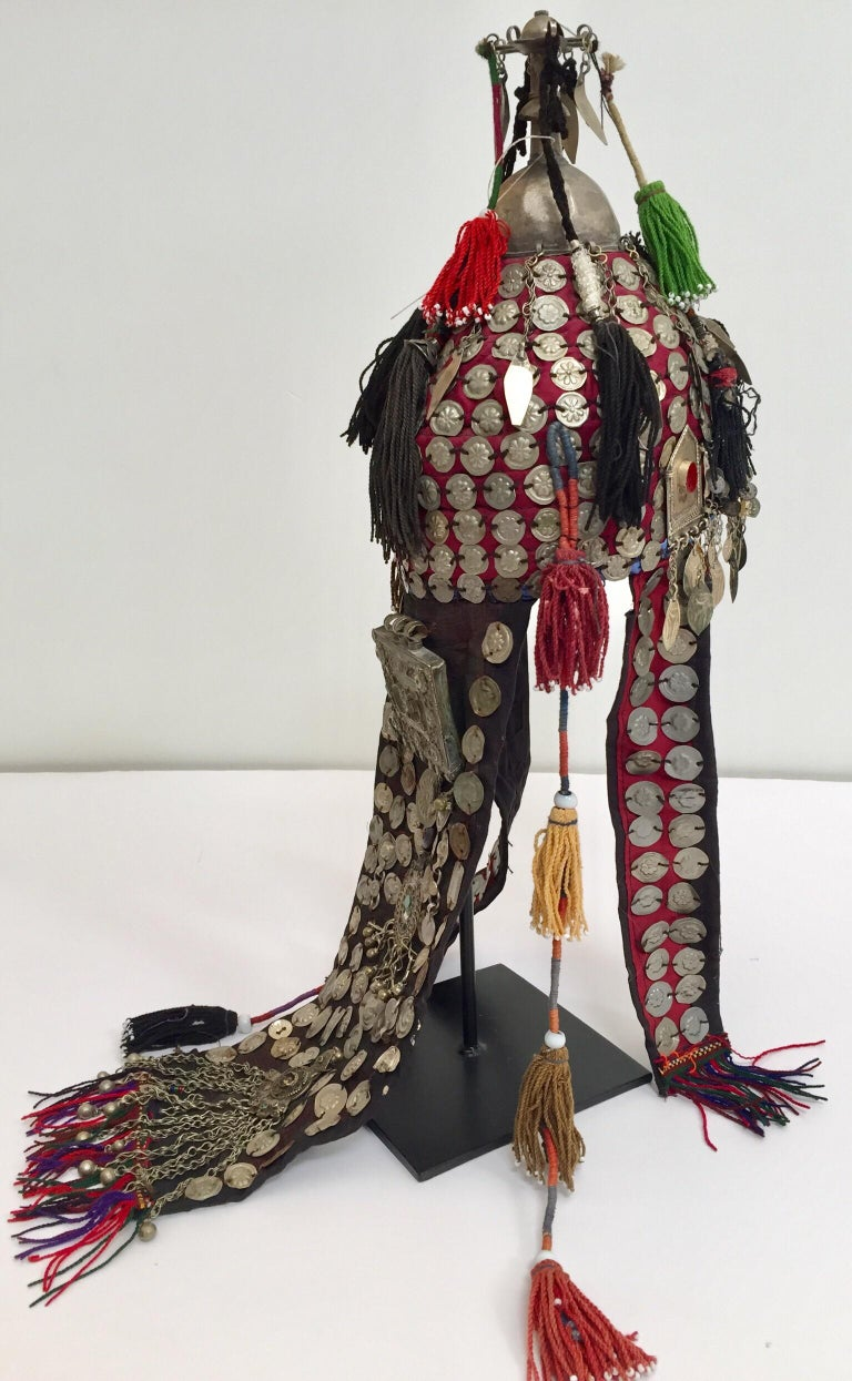 Ethnic Mongolian Wedding Head Dress For Sale 2