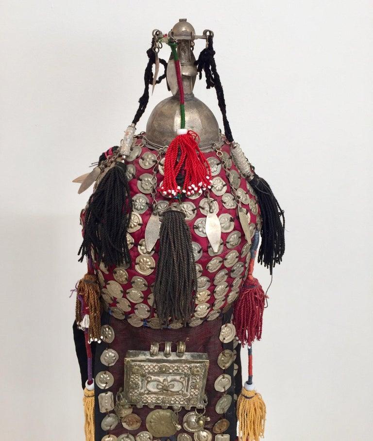 Ethnic Mongolian Wedding Head Dress For Sale 3