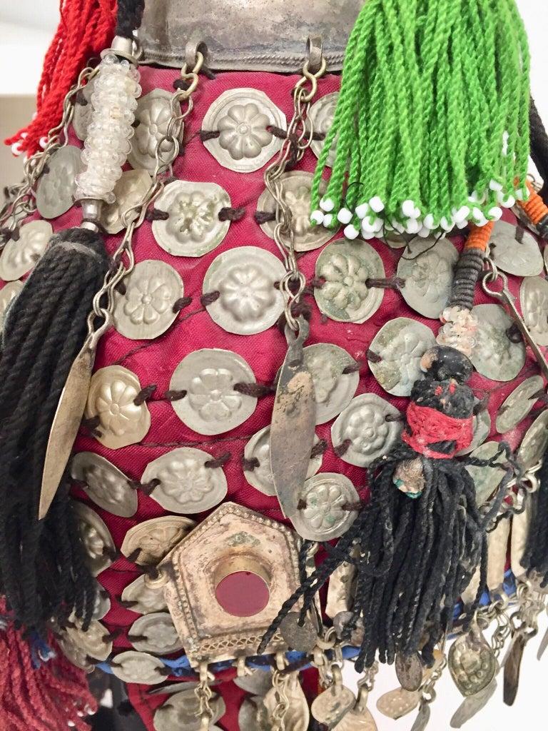 Ethnic Mongolian Wedding Head Dress For Sale 4