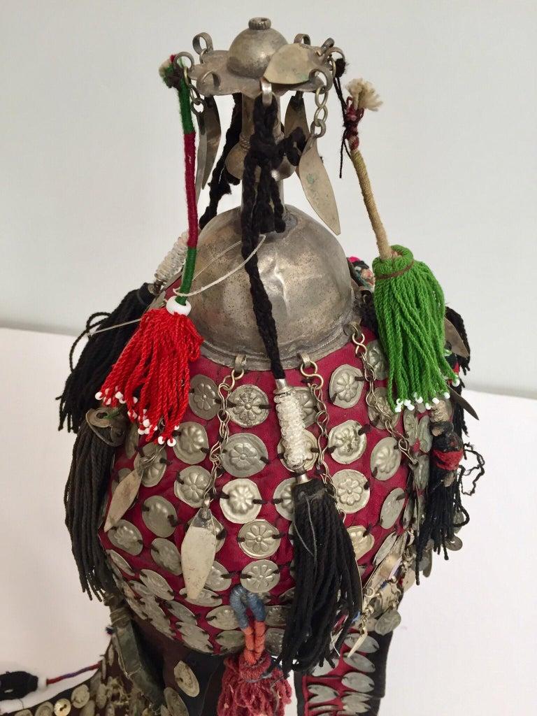 Ethnic Mongolian Wedding Head Dress For Sale 5