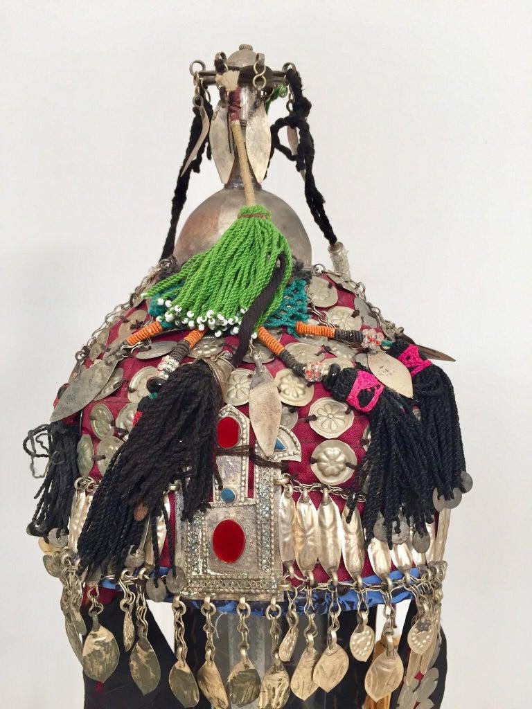 Ethnic Mongolian Wedding Head Dress For Sale 6