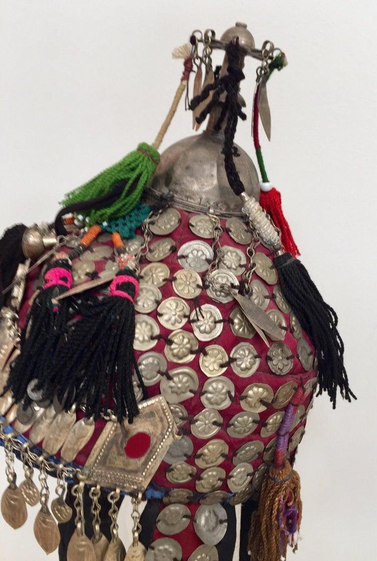 Ethnic Mongolian Wedding Head Dress For Sale 7