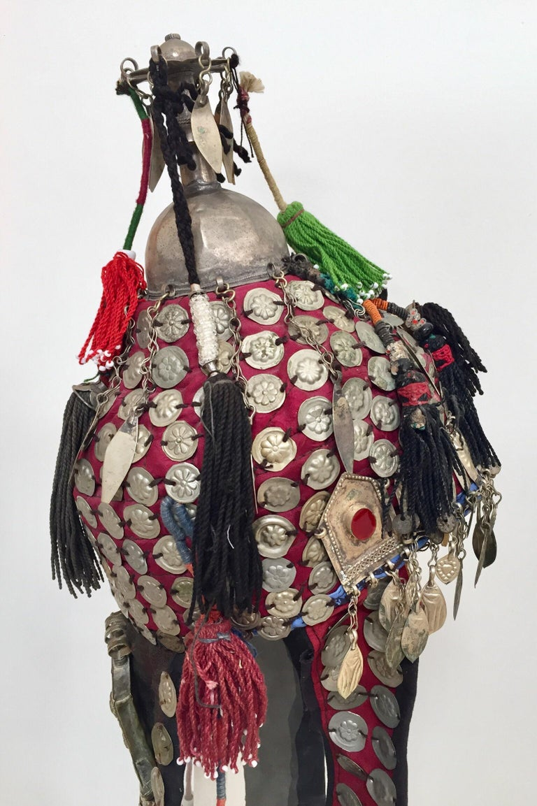 Ethnic Mongolian Wedding Head Dress For Sale 8