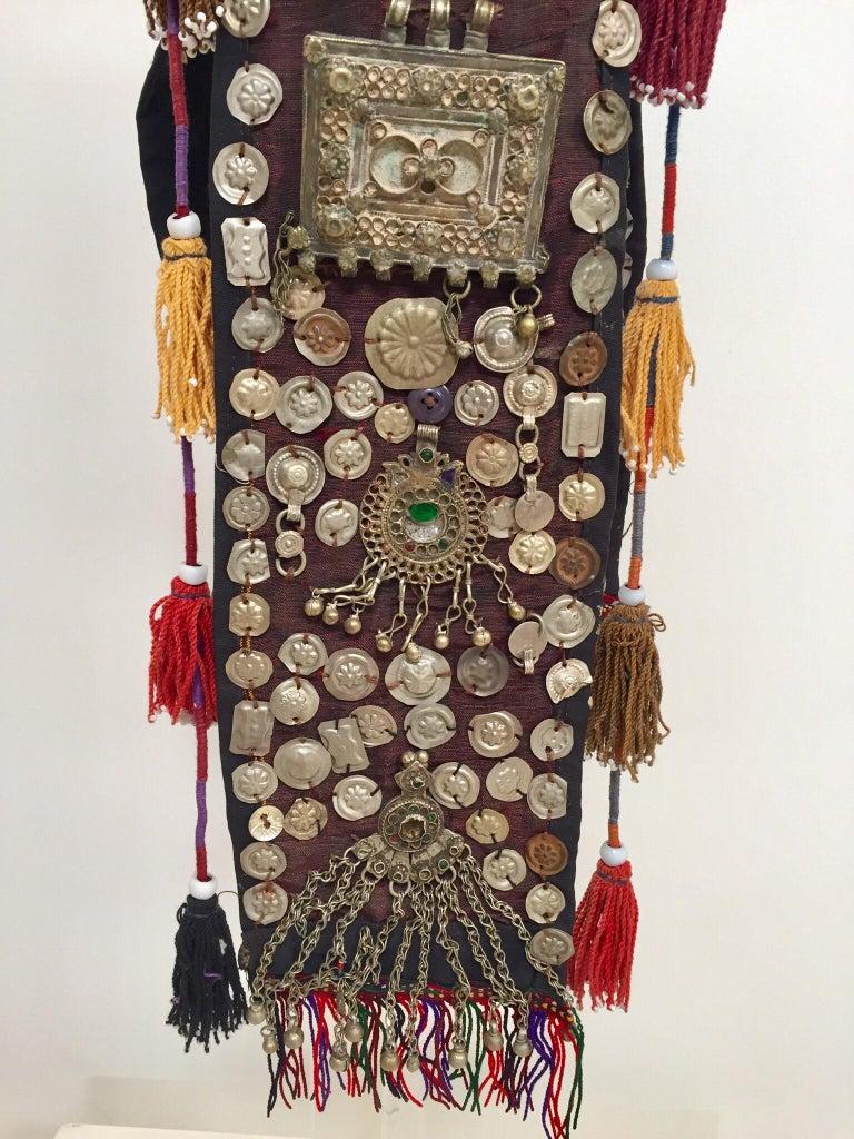 20th Century Ethnic Mongolian Wedding Head Dress For Sale