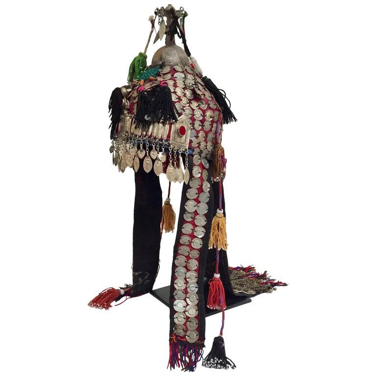 Ethnic Mongolian Wedding Head Dress For Sale