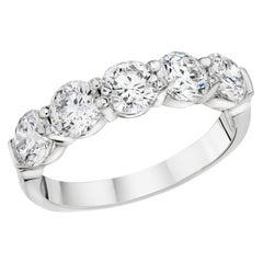 Five-Stone Diamond Ring in 18 Karat Gold