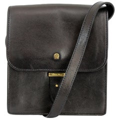 Etienne Aigner Leather Black Shoulder Bag