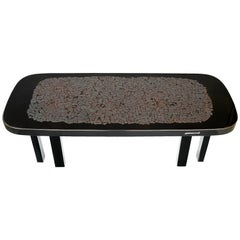 Etienne Allemeersch Hematite Inlaid Coffee Table