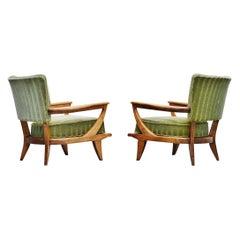 Etienne-Henri Martin SK40 Lounge Chairs Steiner, 1952
