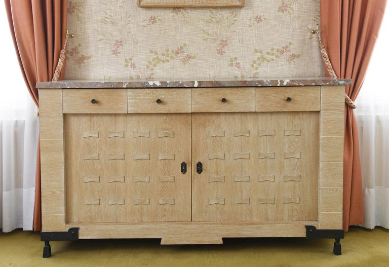 French Etienne Kohlmann, Exceptional Sideboard For Sale