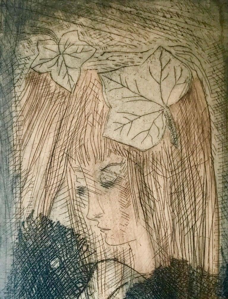 """""""Murmure"""" - Post-Modern Print by Etienne Ret"""