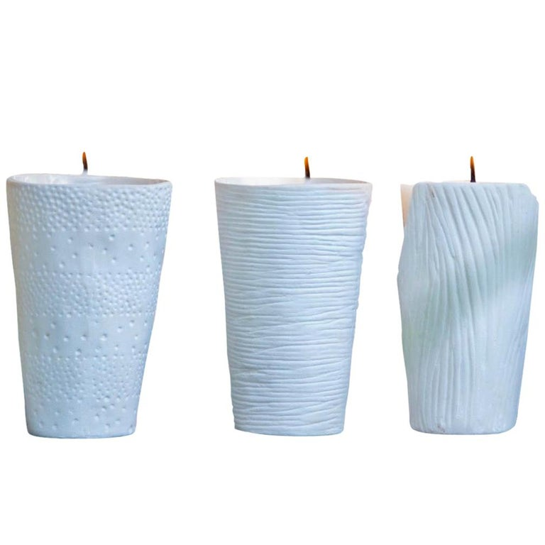 Etiennise Candle Mixed / Set of 3 For Sale