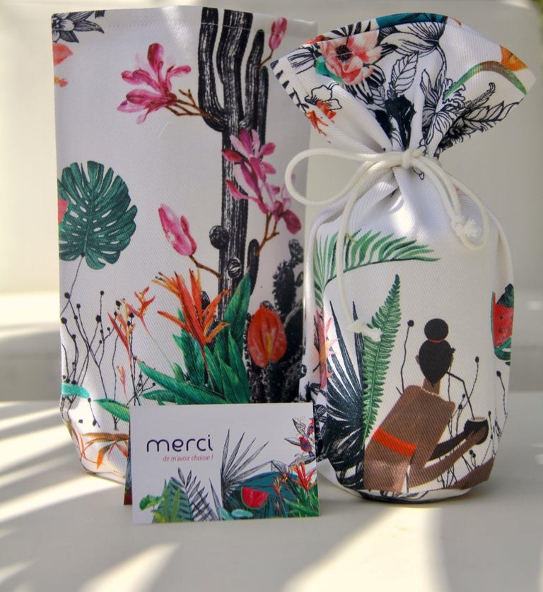 Martinican Etiennise Candle Vague