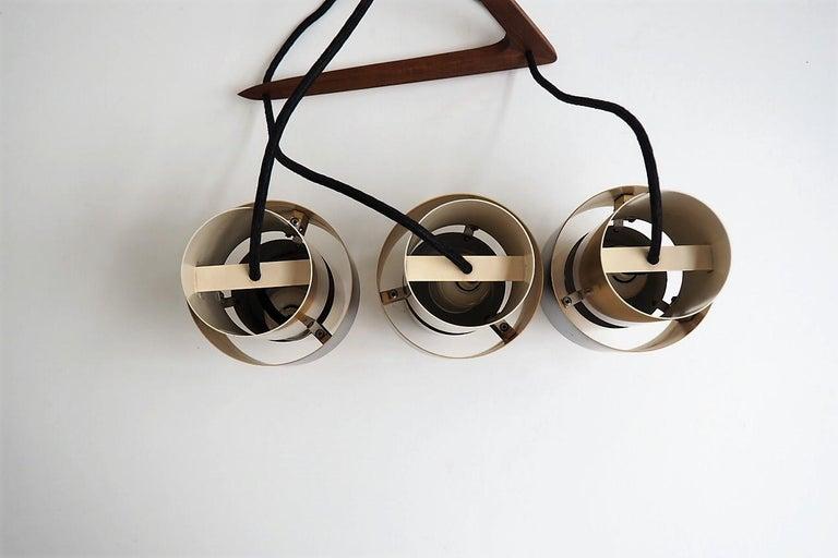 Etna Pendants Designed by Jo Hammerborg for Fog & Mørup, 1960s For Sale 3
