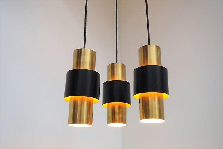Mid-Century Modern Etna Pendants Designed by Jo Hammerborg for Fog & Mørup, 1960s For Sale