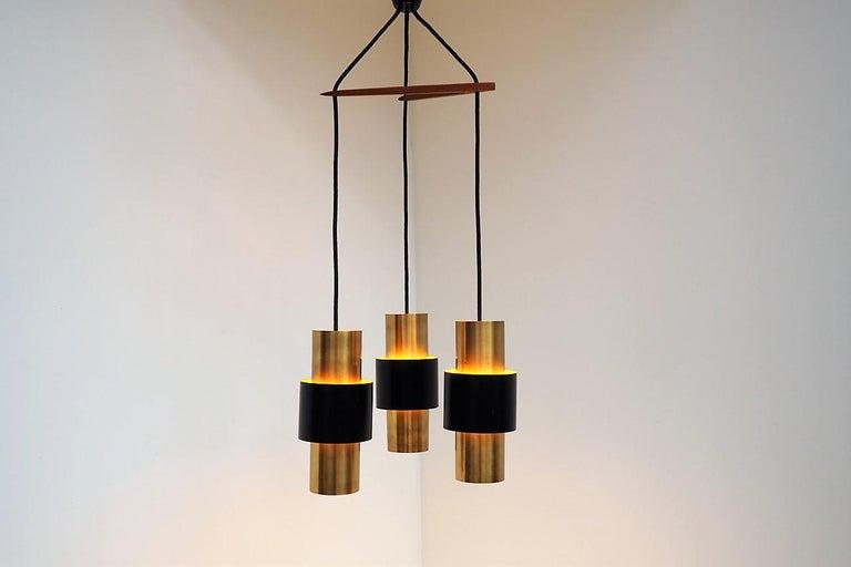 Etna Pendants Designed by Jo Hammerborg for Fog & Mørup, 1960s In Good Condition For Sale In Spoettrup, DK