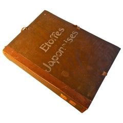 Etoffes Japonaises 'Tissues Et Brochees' Complete Folio of Fabric Designs
