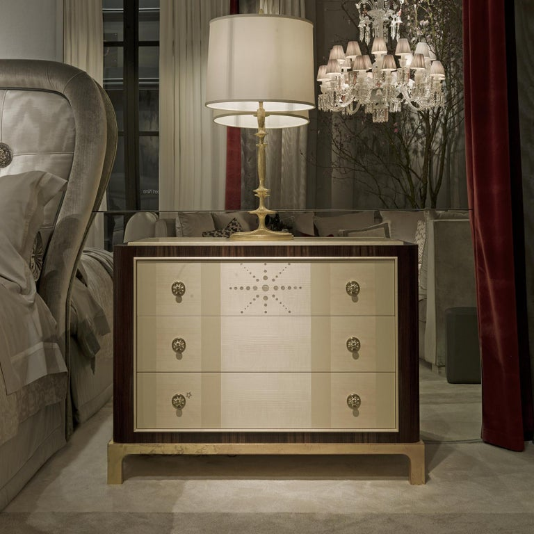 Italian Etoile Chest of Drawers by Chiara Provasi For Sale