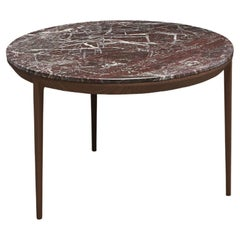 SP01 Etoile Side Table in Red Rosso Levanto Marble, Made in Italy