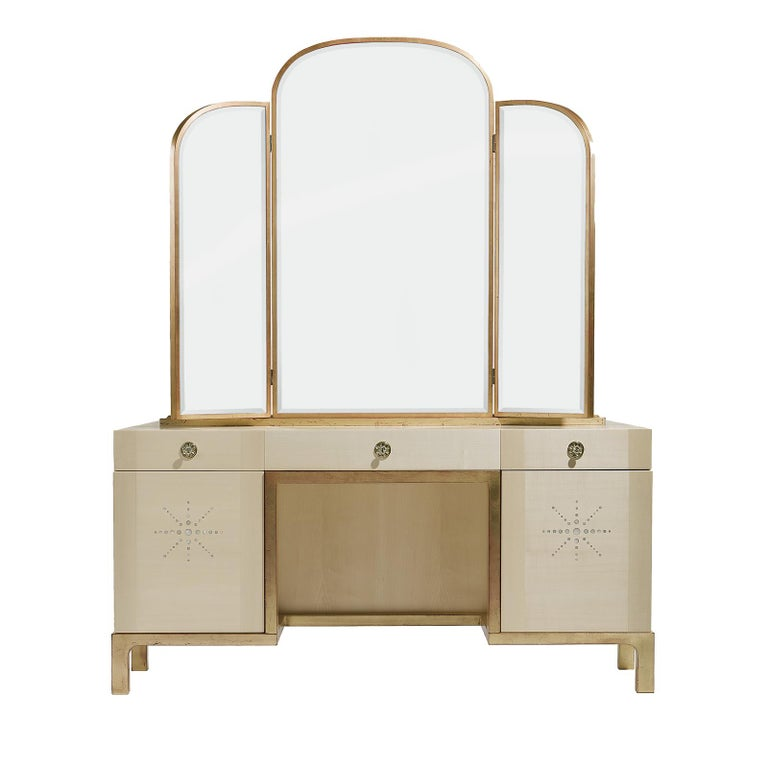 Italian Etoile Vanity Table by Chiara Provasi For Sale