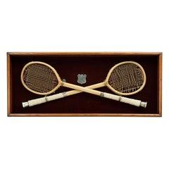 Eton Presentation Racquets Rackets. T.J Grimason, Racquet Courts, Eton