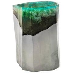Etretat Side Table / Stool by Eduard Locota, Acrylic Glass / Jesmonite