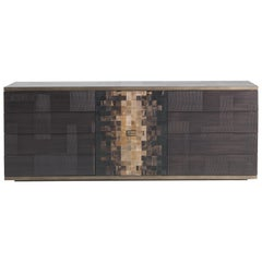 Etro Aleppo Sideboard in Wood and Fabric