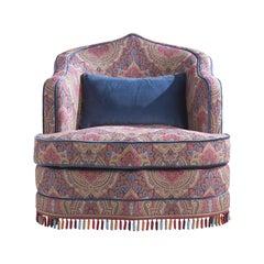 Etro Home Interiors Amina Armchair in Fabric