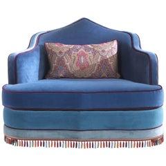 Etro Home Interiors Amina Armchair in Velvet