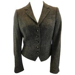 Etro Brown Tweed Jacket