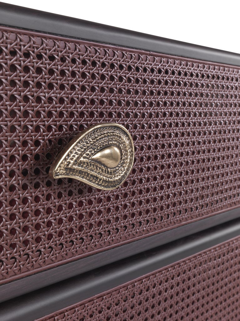 Contemporary Etro Caral Chest of Drawers in Wood For Sale