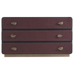 Etro Home Interiors Caral Chest of Drawers in Carbalho Wood
