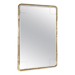 Etro Delfi Mirror in Polished Brass