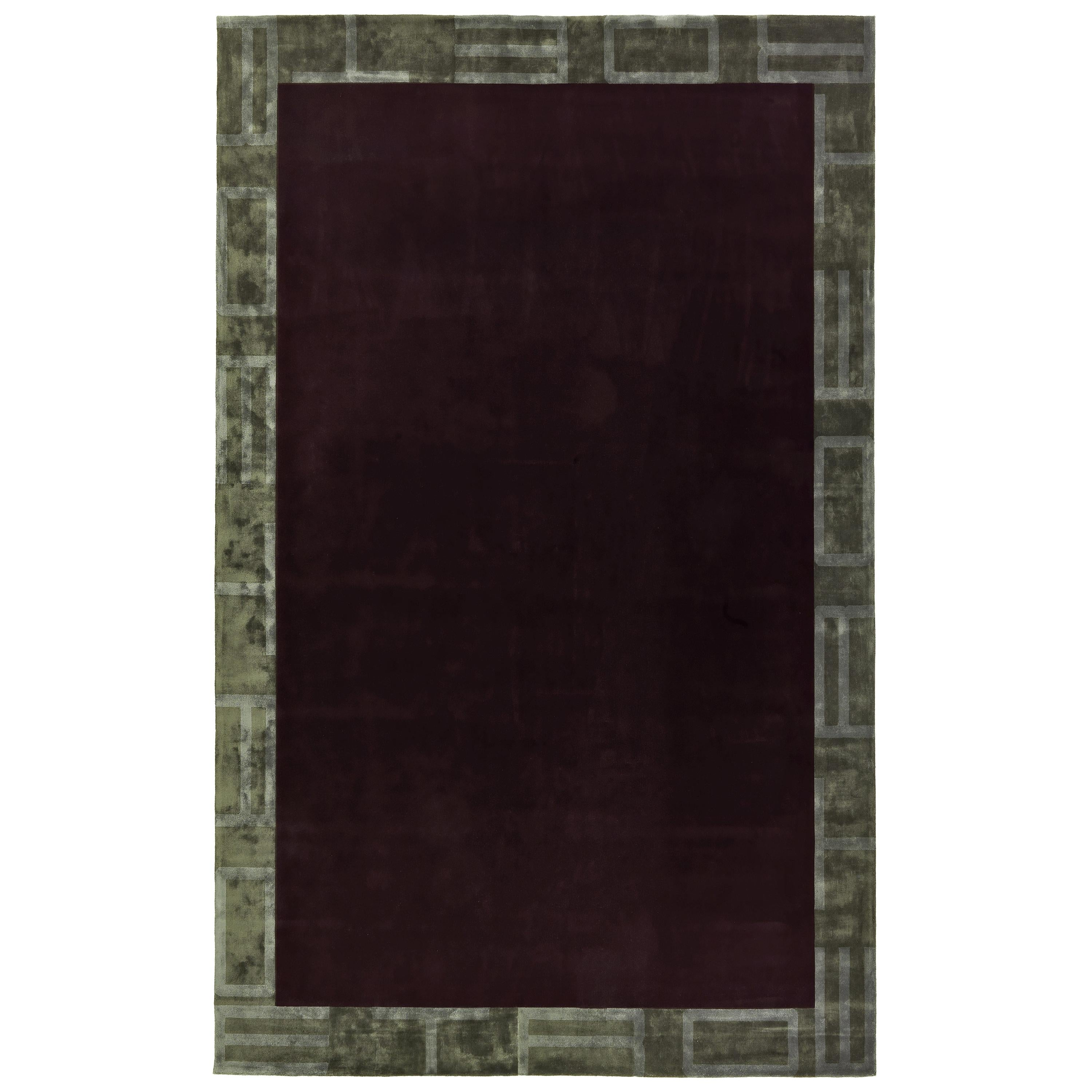 Etro Home Interiors Frame Rug in Hand-Tufted Wool