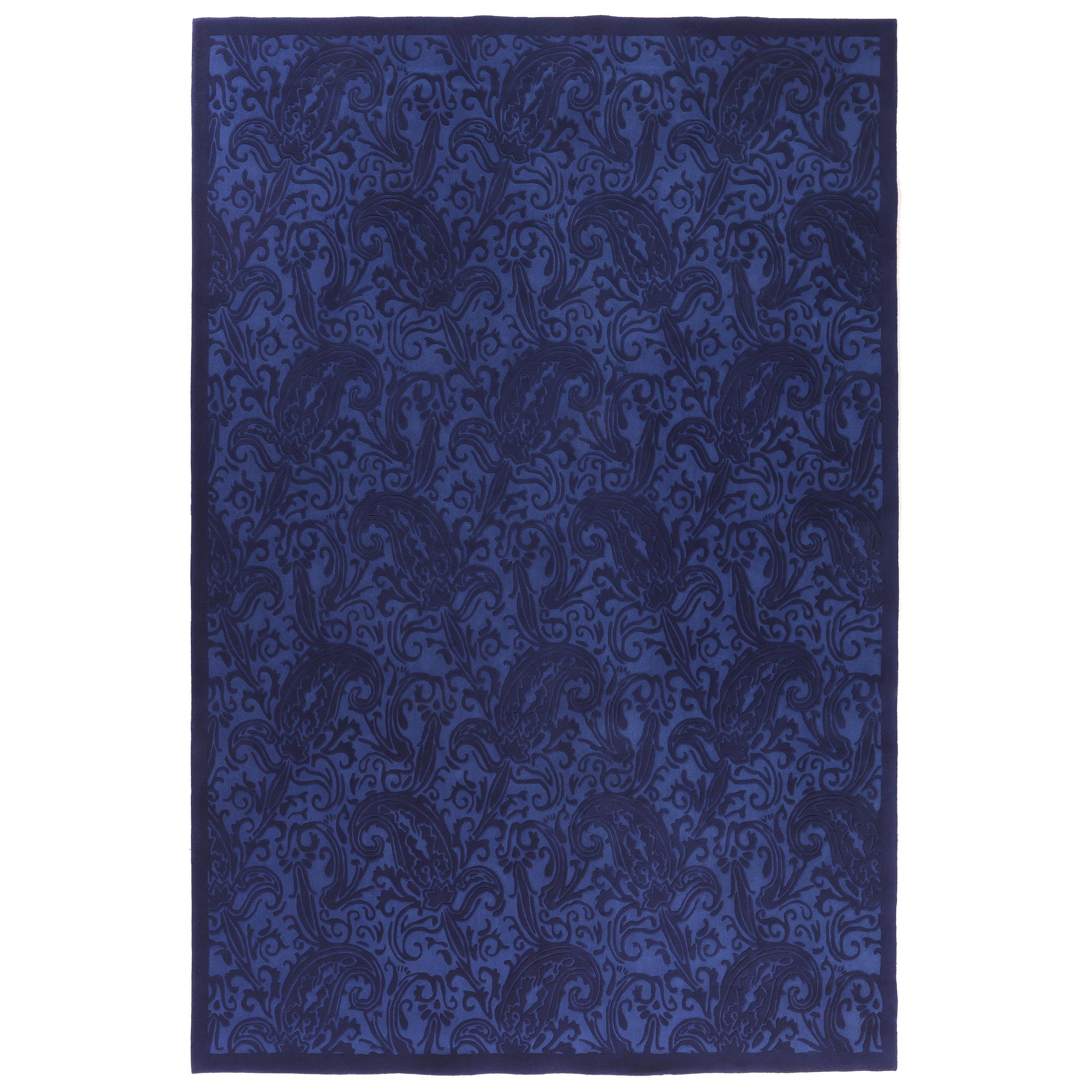 Etro Home Interiors Hendrix Hand-Tufted Rug in Blue Color