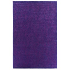 Etro Home Interiors Hendrix Hand-Tufted Rug in Ultra Violet Color