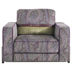Etro Klee 2 Armchair in Metal and Fabric