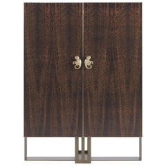 Etro Klee Cabinet in Wood and Metal