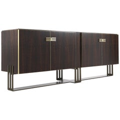 Etro Klee Sideboard in Metal and Wood