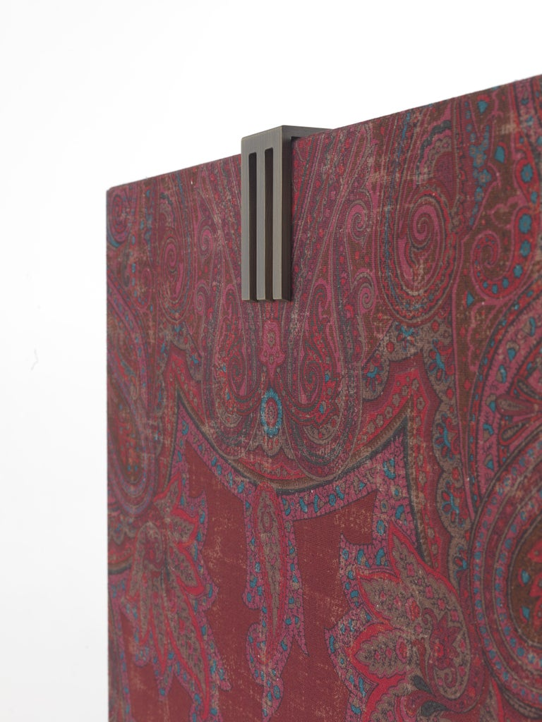 Etro Kolkata Cabinet in Wood and Metal For Sale 3