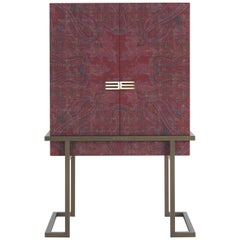 Etro Kolkata Cabinet in Wood and Metal