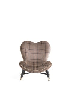 Etro Home Interiors Kush Armchair in Fabric and Wood