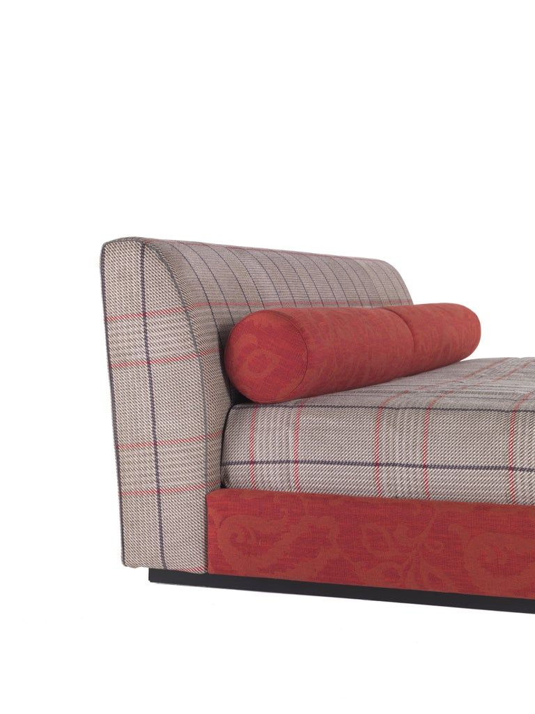 Etro Masada Bed in Wood and Fabric In New Condition For Sale In Cantu, IT