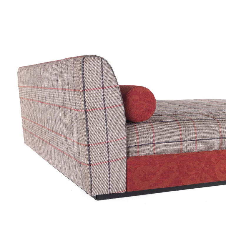 Contemporary Etro Masada Bed in Wood and Fabric For Sale