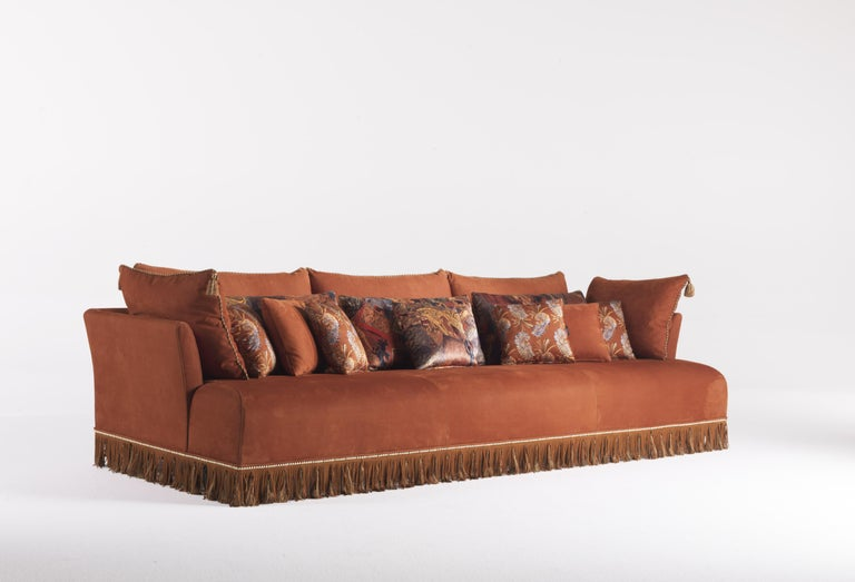 Awesome Etro Mauritania 3 Seat Sofa In Wood And Leather Ocoug Best Dining Table And Chair Ideas Images Ocougorg